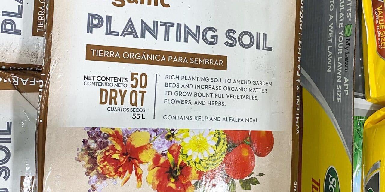 Whitney Farms Organic Planting Soil at Costco