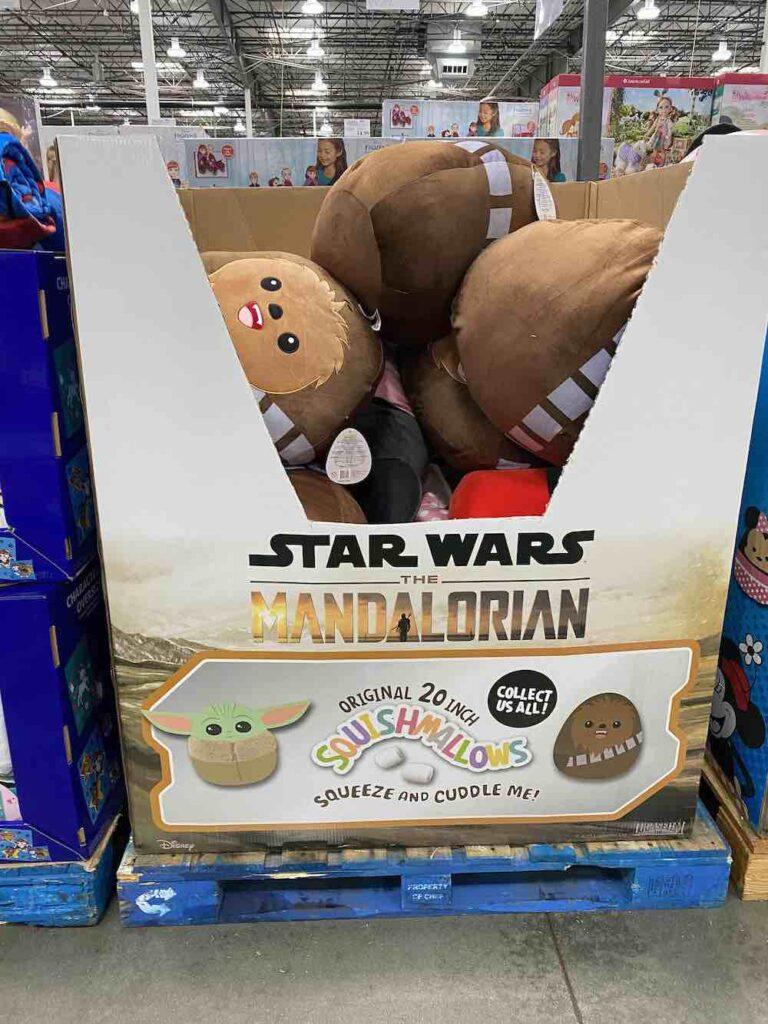 Costco Squishmallows Baby Yoda Chewy Star Wars