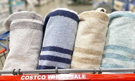 Trident Striped Bath Towels