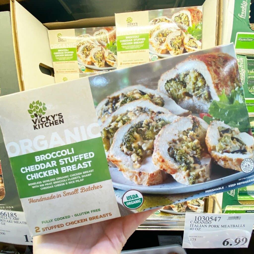 Costco Organic Broccoli Stuffed Chicken Breasts