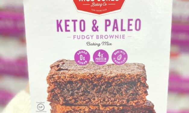 New 0 Added Sugar Healthy Paleo & Keto Brownies at Costco