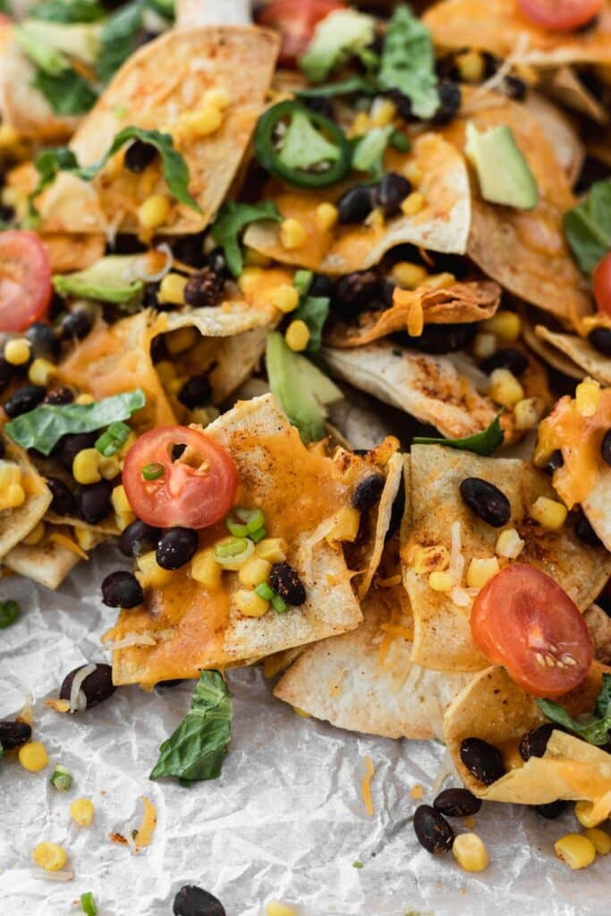 Air Fryer Nachos - Easy Air Fry Recipes and Directions using products purchased at Costco.
