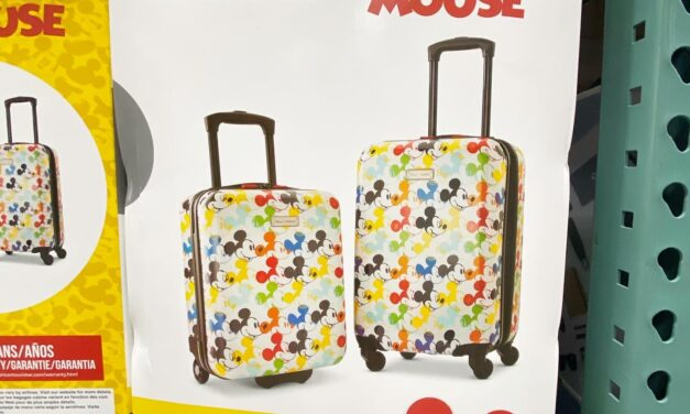 Mickey & Minnie Luggage Set From American Tourister – Back in Stock!