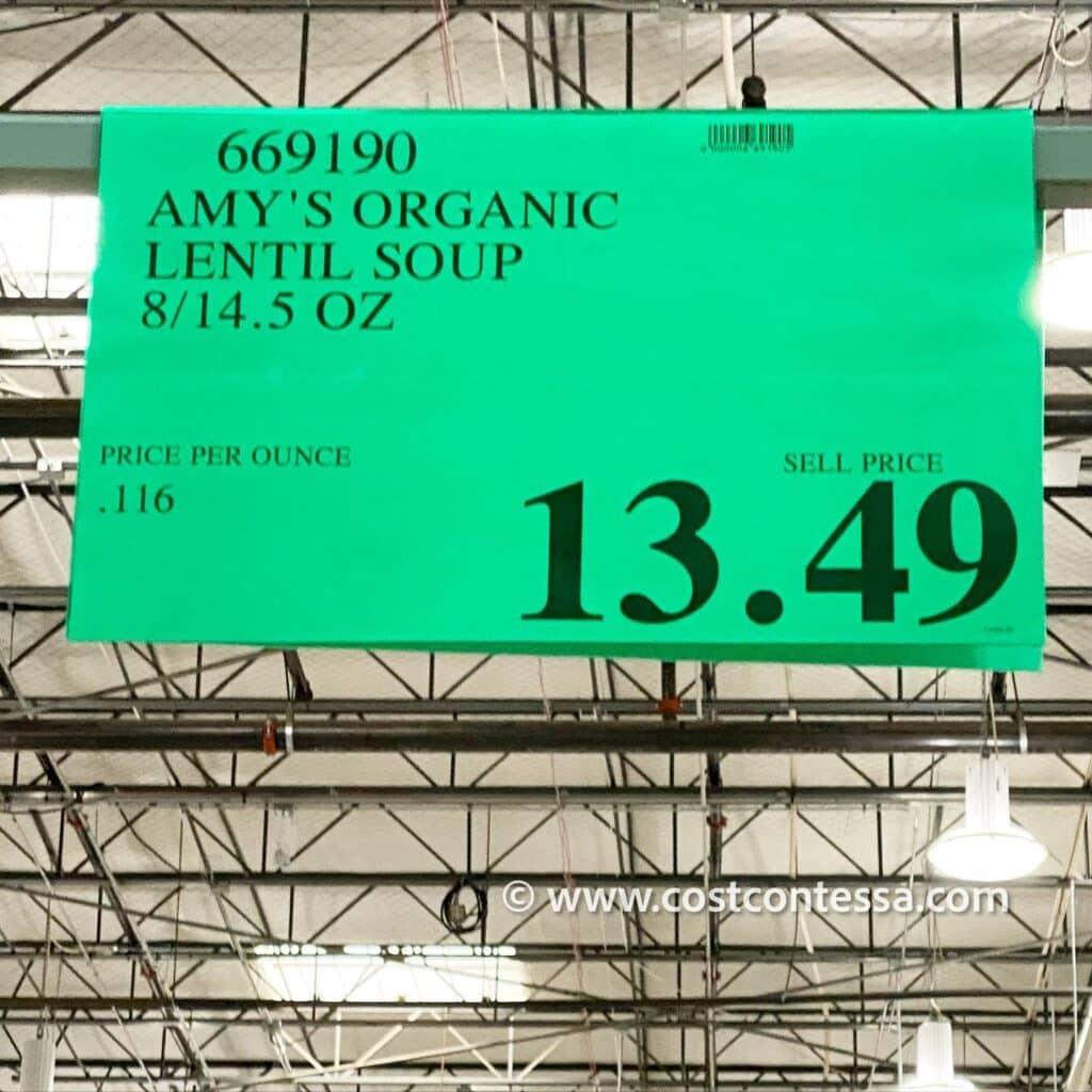 Amy's Organic Lentil Soups - CostContessa