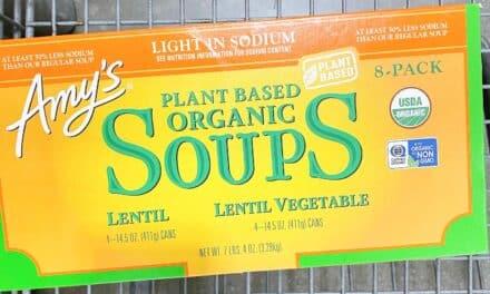 Amy's Organic Lentil Soups