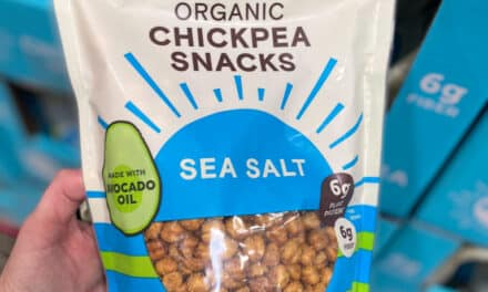 New HEALTHY CHICKPEA Organic Snacks at Costco – 6 Grams of Protein