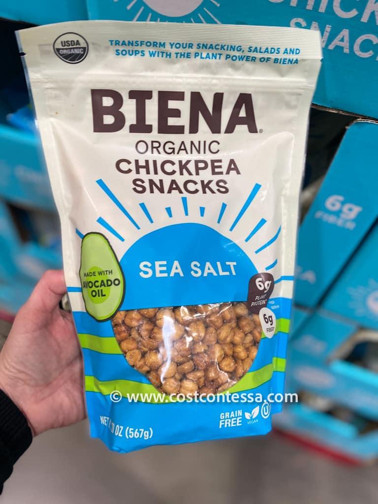 Organic Biena Chickpea Snacks at Costco