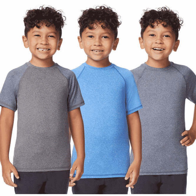 Costco Deal on 3 Pack Boys Cool Active Tees
