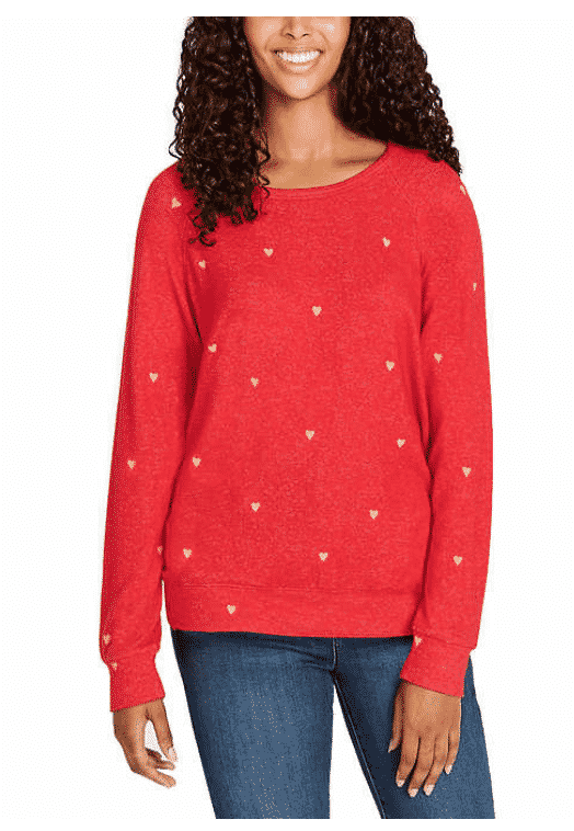 Valentine's Red Heart Top on Sale Now at Costco $6!