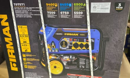 Emergency Power Generator at Costco – Tri Fuel 7500 Running Watts