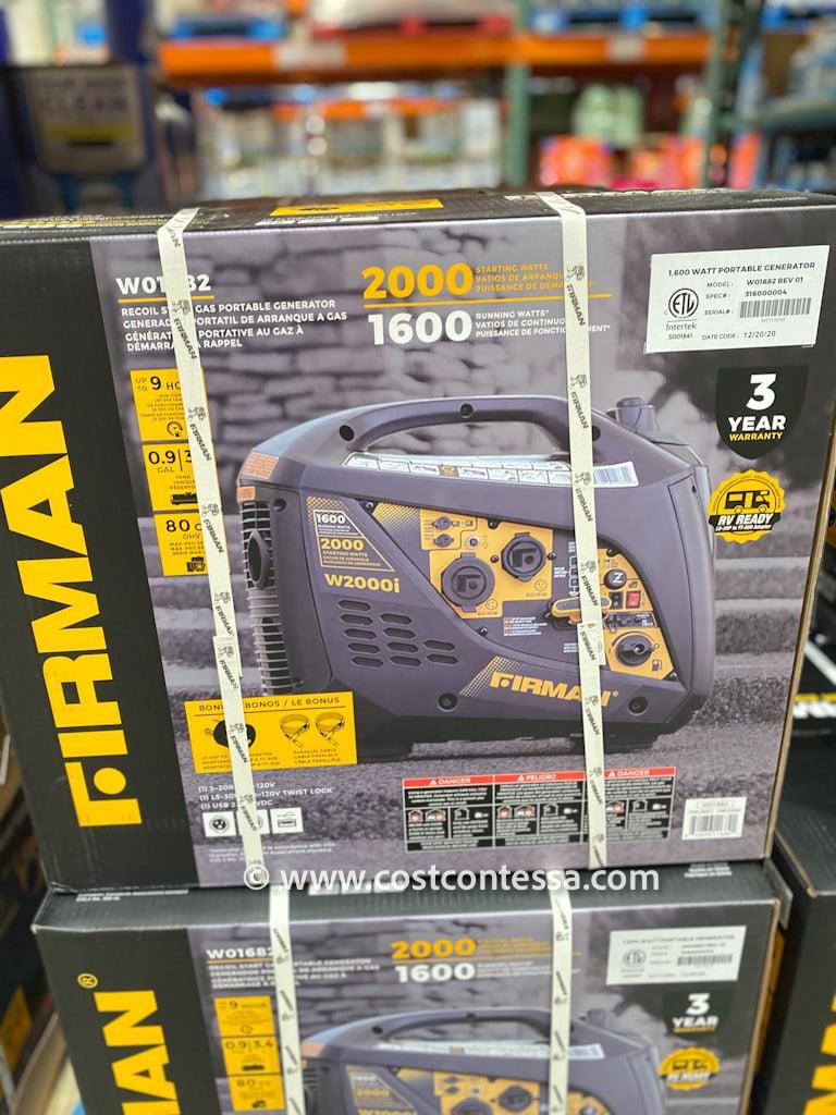 Firman Inverter Generator 2000W Portable Power Source at Costco $499 | Quiet Camping Generator | more at Costcocontessa.com
