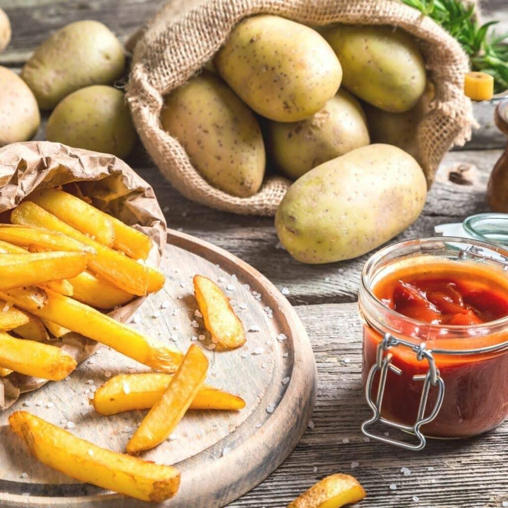 Air Fryer French Fries - 3 ways!  Costco Contessa - costcontessa.com