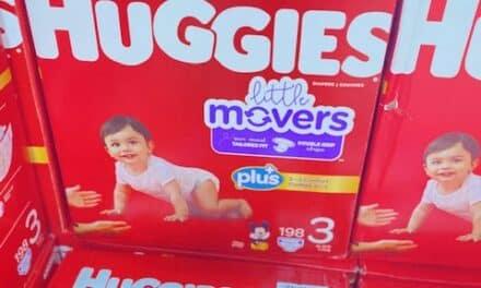 Huggies Diaper Sale at Costco