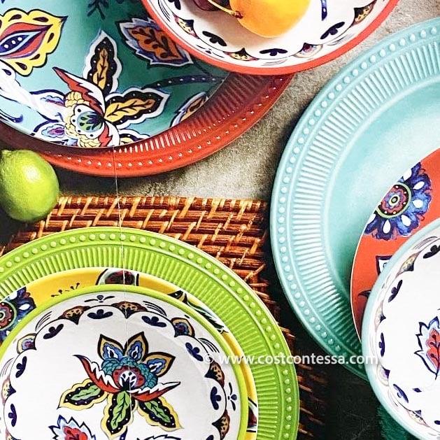 Melamine Dinnerware Set for 4