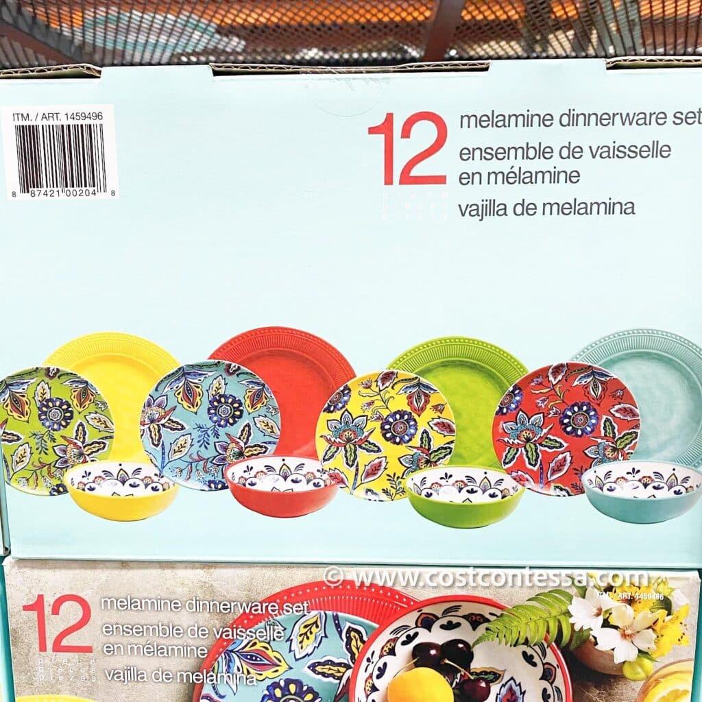 Melamine Dinnerware Set for 4 - CostContessa