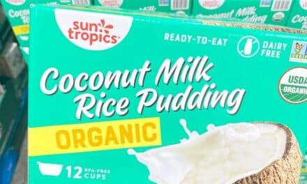 Costco Organic Coconut Rice Pudding by Sun Tropics – New