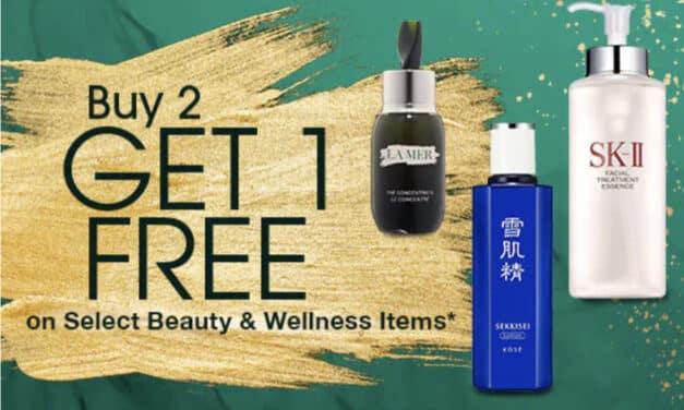 Beauty Deals at Costco – Buy 2, Get 1 FREE