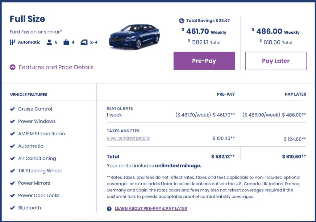 Costco Travel Car Rental - Great Deals - Free 2nd Driver - CostContessa