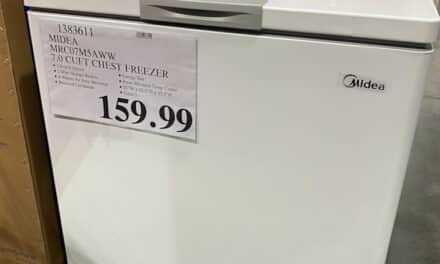7.0 CUFT Convertible Chest Freezer at Costco