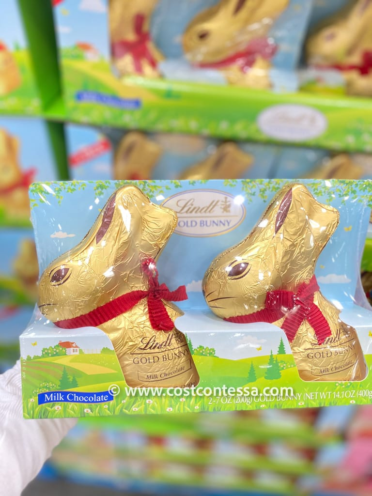 Lindt Chocolate Gold Bunny - Costco Easter Baskets