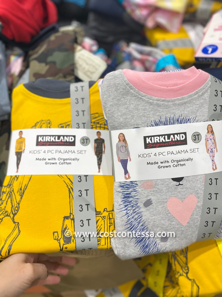Kids Organic Pajamas on Clearance at Costco for $8!