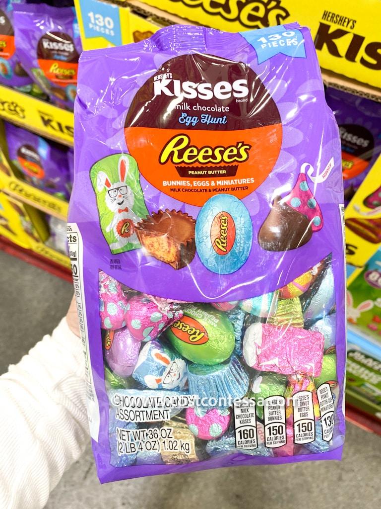 Costco Easter Basket Filler Candy - Hershey's Spring Shapes