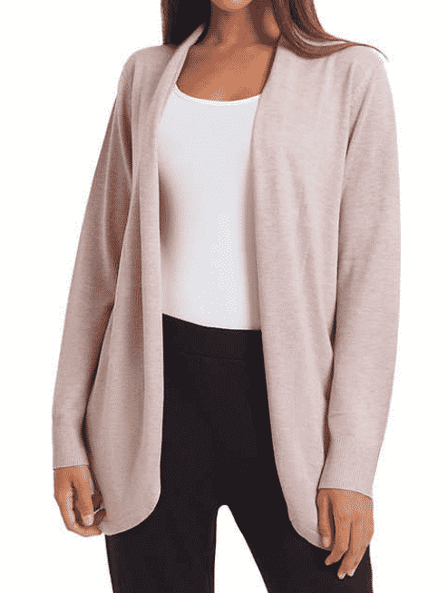 This gorgeous and cozy cardigan from Ella Moss is on sale at Costco right now, plus you can stack the Buy More Save More Coupon and grab it right now for only $9!