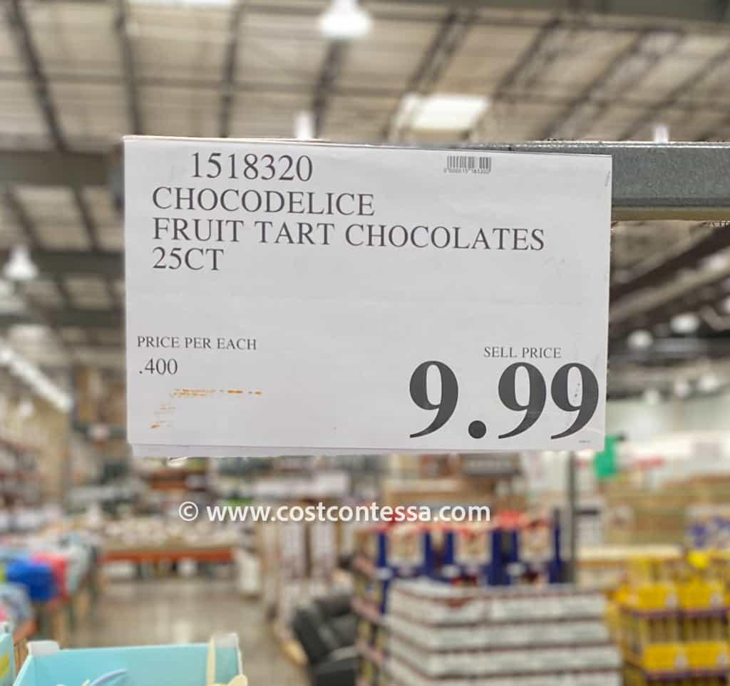 Costco Easter Treats - Chocolate Fruit Tarts