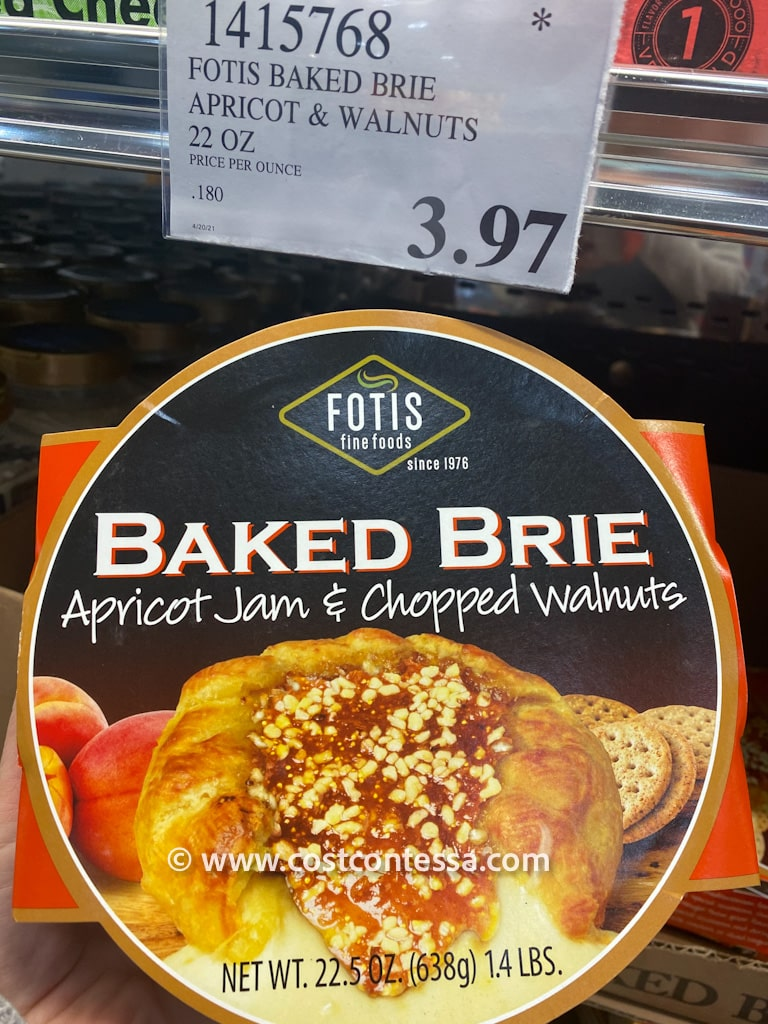Costco Clearance Markdown - Baked Brie en Brioche with Apricot