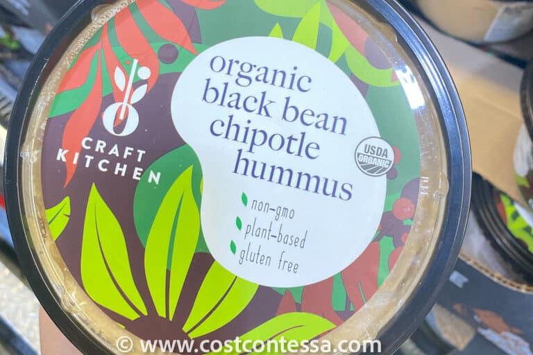 Oasis Craft Kitchen Organic Chipotle Black Bean Hummus at Costco $6.59