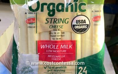 Costco Organic String Cheese