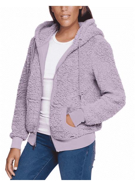 UNDER $10 DEALS! Marc New York Ladies' Cozy Full Zip Jacket - Costco Women's Clothing Deals & Steals