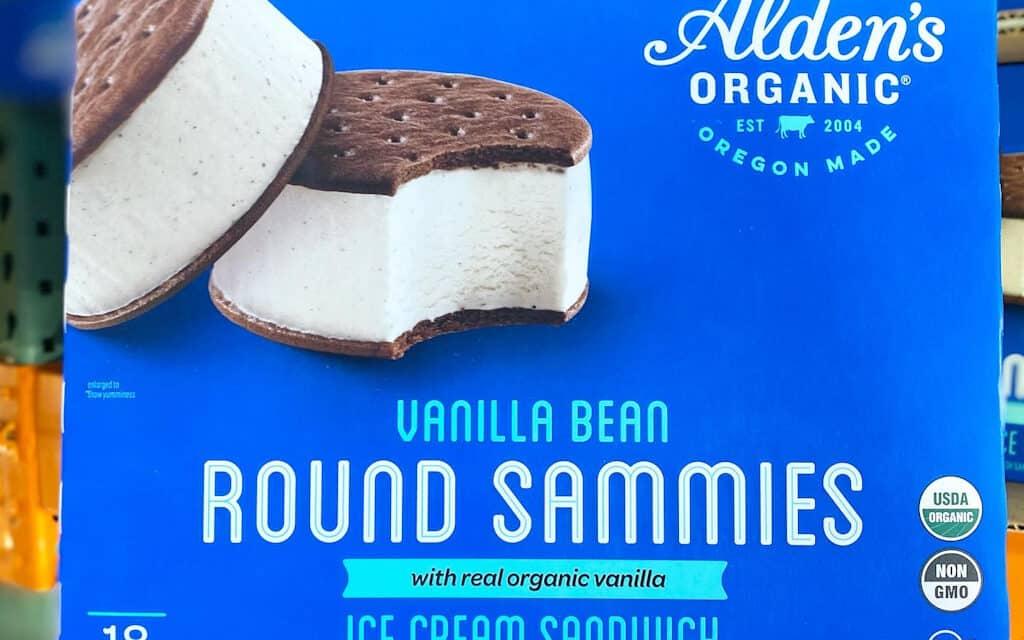 Organic Ice Cream Sandwiches at Costco