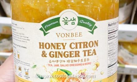 Costco Vonbee Honey Citron & Ginger Tea Review