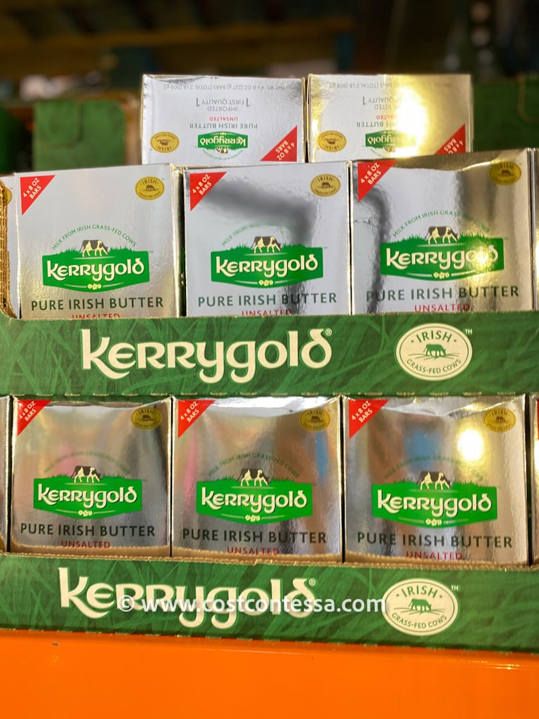 COSTCO KERRYGOLD IRISH GRASS FED BUTTER