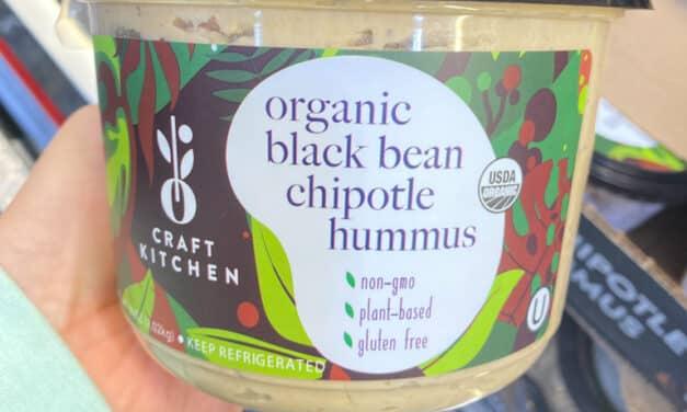 Costco Organic Black Bean Hummus By Oasis Craft Kitchen