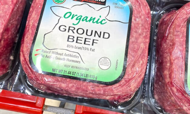 Organic Ground Beef at Costco
