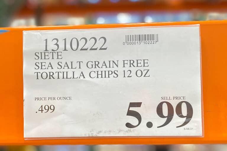 Costco Gluten Free Siete Tortilla Chips - CostContessa