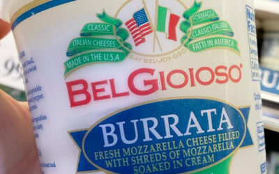 Costco BelGioioso Burrata Mozzarella Cheese