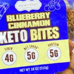 Keto Cinnamon Blueberry Bites from Bakery Street - New at Costco!