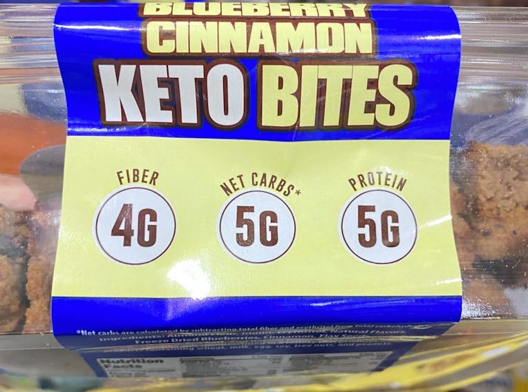 BLUEBERRY CINNAMON KETO BITES