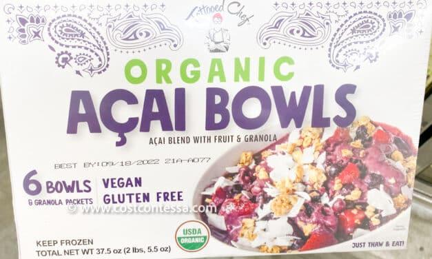 Costco Acai Bowl Frozen Organic Treats!