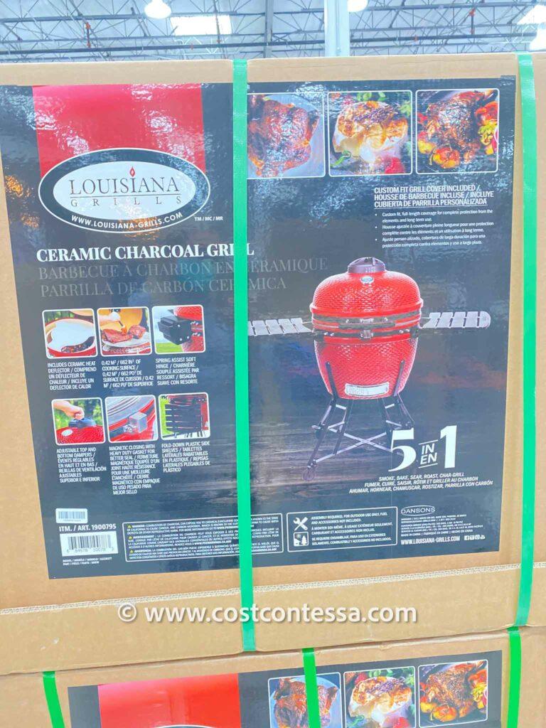 Costco Kamado Joe Grill Version - Louisiana Grill is 1/3 the Price of a Big Joe II by Kamado Joe