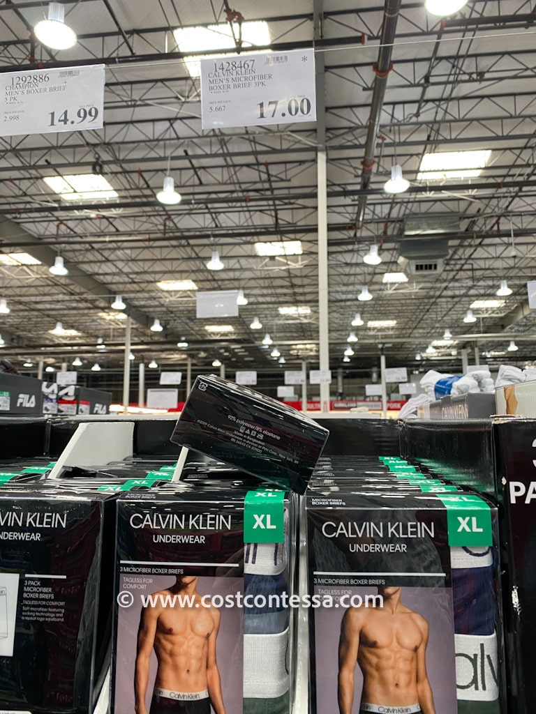 Calvin Klein Boxer Briefs on Clearance at Costco 3 Pairs for $17