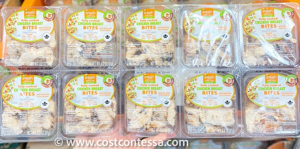 3 Carb Costco Keto Chicken Bites Snack Packs