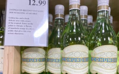 Costco Conundrum White Wine California