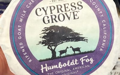 Humboldt Fog Cheese at Costco