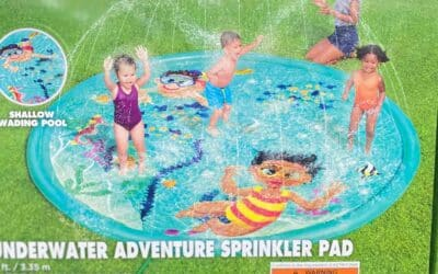 Costco Splash Pad - H2OGO! Sprinkler Splash Pad Pool