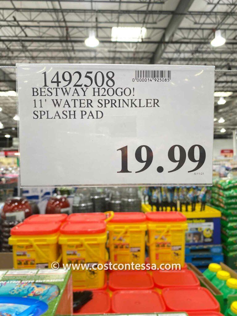 Costco Splash Pad - H2OGO! Sprinkler Splash Pad Pool - $19.99 - costcontessa.com