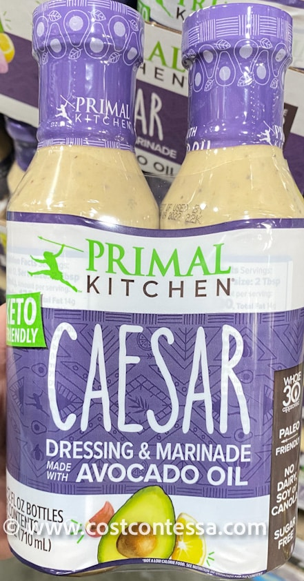 Keto, Paleo, Dairy Free Caesar Dressing at Costco from Primal Kitchen - New this week!
